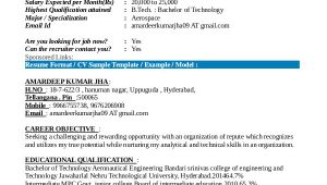 Aeronautical Engineer Fresher Resume format 9 Fresher Resume Templates In Pdf Free Premium Templates