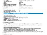 Aeronautical Fresher Resume format 9 Fresher Resume Templates In Pdf Free Premium Templates