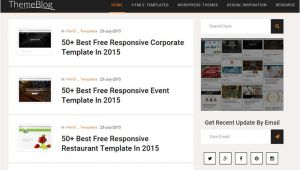 Affiliate Site Template Free Personal Blog Affiliate Marketing HTML5 Template