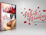 After Affects Templates after Effects Template White Wedding