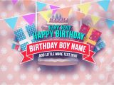 After Effect Birthday Template Happy Birthday Slideshow after Effects Project Motion