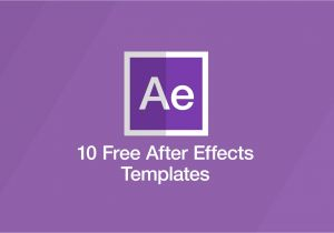 Aftereffect Templates 10 Free after Effects Templates Motion Array