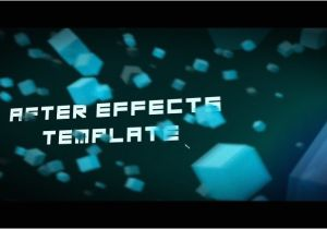 Aftereffect Templates 5 after Effects Templates for Titles that are Absolutely Free