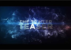 Aftereffect Templates after Effects Template the Cinematic Trailer Teaser