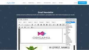 Agile Crm Email Templates How to Make An Awesome Email Newsletter for Your Business