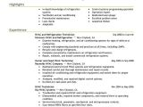 Air Conditioning Technician Resume Samples Best Hvac and Refrigeration Resume Example Livecareer