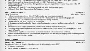 Air Conditioning Technician Resume Samples Hvac Technician Resume Sample Resumecompanion Com