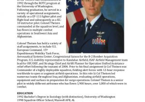 Air force Bio Template 24 Images Of Army Biography Template Leseriail Com