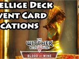 All Unique Card Locations Witcher 3 Witcher 3 Blood and Wine Gwent Card Locations Skellige Deck 4k Ultra Hd