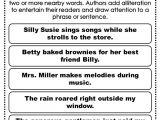 Alliteration Poem Template Alliteration Anchor Chart Reading Pinterest