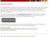 Alumni Email Template Carnegie Mellon University Online Community Alumni