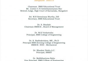 Alumni Email Template International Alumni association Day Bmsce Iaa Function