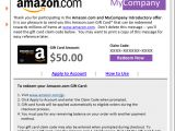 Amazon Email Template Pre Approved Templates Amazon Com Corporate Gift Cards
