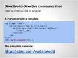 Angular Directive Template Angularjs Workshop