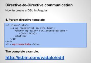 Angular Directive Template Angularjs Workshop