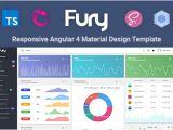 Angular Templating Fury Angular 5 Material Design Admin Template by Visurel