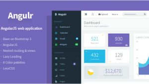 Angular Ui Bootstrap Template 20 Angularjs Admin Templates for Download Templateflip