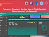 Angular Ui Bootstrap Template Lokra Angular 2 Admin Template with Bootstrap 4 and