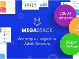 Angular Ui Bootstrap Template Megastack Bootstrap 4 Angular Js Admin Dashboard