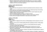 Animal Caretaker Resume Sample Animal Caretaker Resume Samples Velvet Jobs