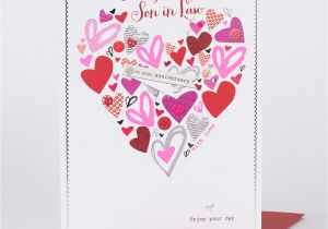 Anniversary Card Daughter and son In Law Anniversary Card Daughter son In Law Heart