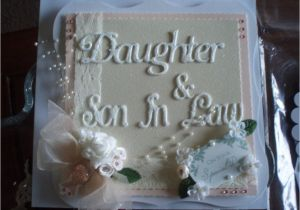 Anniversary Card Daughter and son In Law Send Rosy and Warm Anniversary Wishes to Your Daughter and