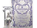 Anniversary Card Di and Jiju Natali Anniversary Gift for Couple Anniversary Scroll Card