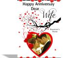 Anniversary Card Greetings to Wife Alwaysgift Happy Anniversary Dear Wife Greeting Card