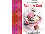 Anniversary Card Mum and Dad Wedding Anniversary Mom Dad Greeting Card