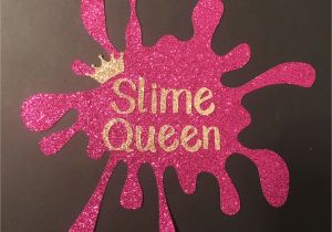 Anniversary Card Off the Queen Cake topper Slime Queen by Featherandfleece On Etsy Https