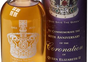 Anniversary Card Off the Queen English Whisky Company Coronation Of Queen Elizabeth 60th