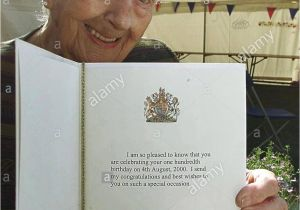 Anniversary Card Off the Queen Queen Mother 100th Birthday Stock Photos Queen Mother