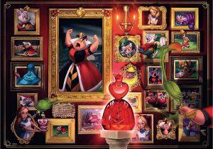 Anniversary Card Off the Queen Ravensburger Disney Villainous Queen Of Hearts 1000 Piece