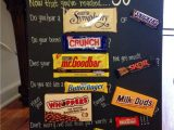 Anniversary Card Using Candy Bars 50th Birthday Candy Card with Images 50th Birthday Gifts