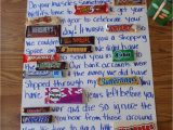Anniversary Card Using Candy Bars Candy Bar Poems
