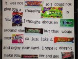 Anniversary Card Using Candy Bars Candy Inspired Teacher Appreciation Poem Maybe Have