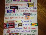 Anniversary Card Using Candy Bars Diy Gift Ideas for Bestfriend Birthday Cards for Friends