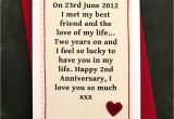 Anniversary Card What to Write when We Met Personalised Anniversary Card with Images