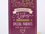 Anniversary Greeting Card for Parents Celebrations Occasions Cards Stationery Mum Dad