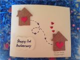 Anniversary Greeting Card with Photo Simple Idea for Anniversary Gift Diy Anniversary Cards