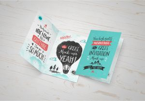 Anniversary Ke Liye Greeting Card Invitation Greeting Card Mock Up Freebie On Behance