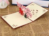 Anniversary Love Pop Up Card Amazon Com Yu2d D D 3d Pop Up Cards Valentine Lover Happy