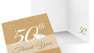 Anniversary Party Thank You Card Wording 50th Anniversary Wedding Anniversary Thank You Cards 8