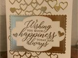 Anniversary Wishes Card with Name Stampin Friends Wedding Wishes Wedding Wishes Wedding