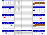 Annual Calendar Of events Template 2017 and 2018 Calendars Excel Templates