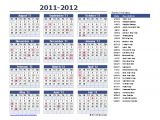 Annual Calendar Of events Template Yearly Calendar Template for 2016 and Beyond