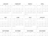 Annual Calendar Template 2014 2014 Yearly Calendar Template Madinbelgrade