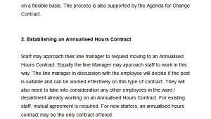 Annualised Hours Contract Template 20 Hr Contract Templates Hr Templates Free Premium
