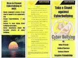 Anti Bullying Brochure Template Vidur Prasad Portfolio Wix Com