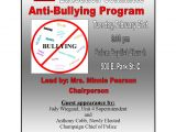 Anti Bullying Flyer Template Anti Bullying Flyer Images Frompo